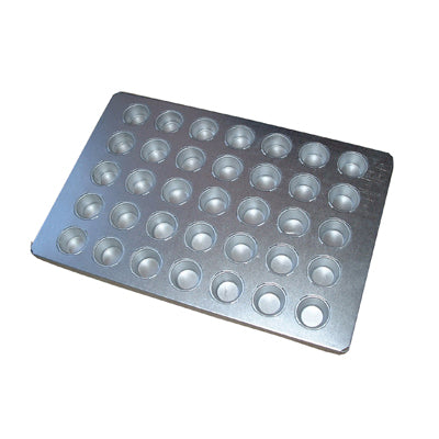 BAKING TRAY ALUSTEEL - SMALL MUFFIN 35 CUP 600 X 400MM BTA0033