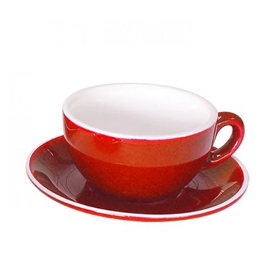 Cappuccino Cup 21CL GS-R815C-R | OPEN CAPPUCCINO CUP RED - 21CL (12) | wedoall.co.za