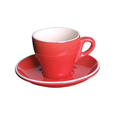 Cappuccino Cup 16CL GS-R808C-R | CAPPUCCINO CUP RED - 16CL (12) | wedoall.co.za