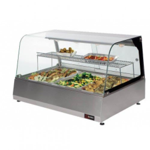 Warming Display 3 Division HDM0003 | HEATED DISPLAY MERCHANDISER SALVADORE - 3 DIVISION | wedoall.co.za