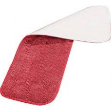 Microfiber Wet Mop Pad - 450mm - Red Carlisle MMP3450 | wedoall-co-za.myshopify.com