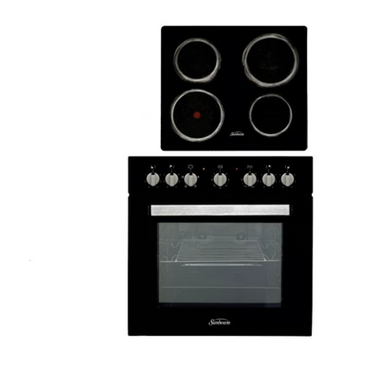 Sunbeam Contractor Oven Pack (Black) SCOP-600B | oven stove | wedoall.co.za
