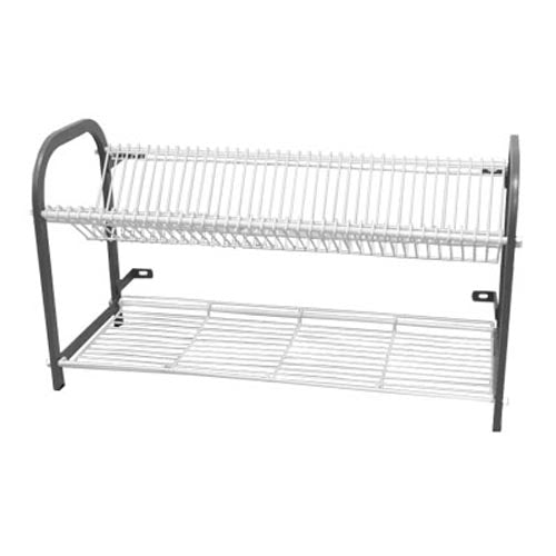 Crockery Rack Wall Mounted – 1105Mm – 53 Large Plates + Cup Shelf CRW1105 | crockery rack | wedoall.co.za