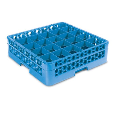 Glass Rack - 25 Compartment (Blue) Carlisle GRC5025 | wedoall-co-za.myshopify.com