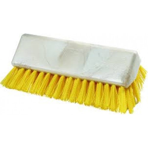 Hi-Lo Floor Scrub Brush - 250mm - Yellow Carlisle FSB5250