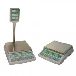 6000g Azextra Price Computing Retail Scale AZextra-6P Scale Adam Azetra Retail - Price computing, Up to 6000g WDA1