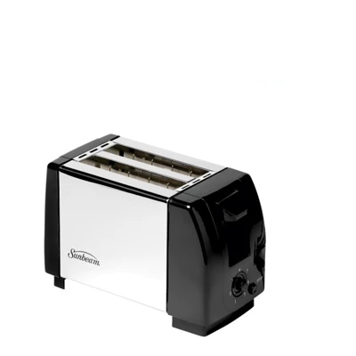 Sunbeam Deluxe Black & Stainless Steel Toaster SST-100/A