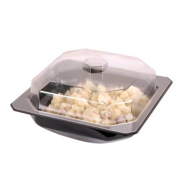 Salad Bowl Dome Lid SBL0250 | SALADWARE - SALAD BOWL DOME LID - 250 x 250mm | wedoall.co.za