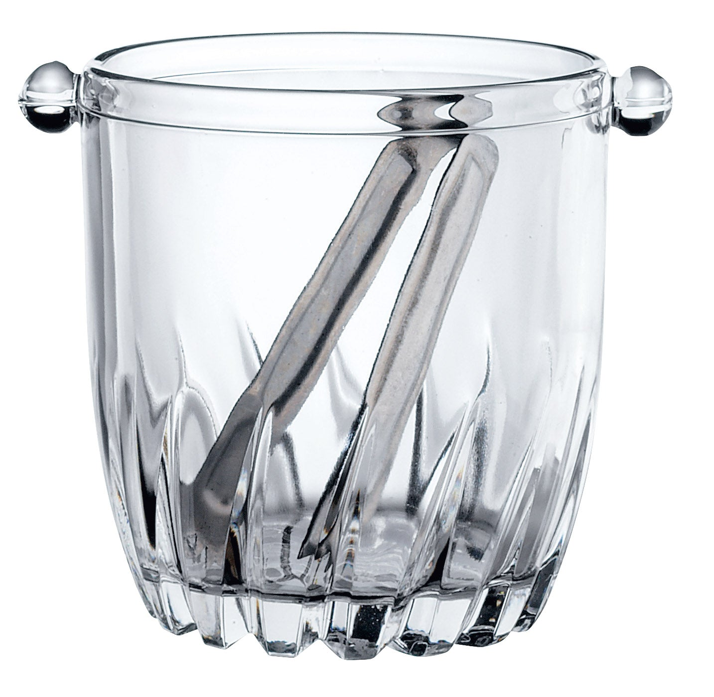 ICE BUCKET WITH TONGS 95cl (12) H128mm W151mm - MONCAYO - BR2.23502