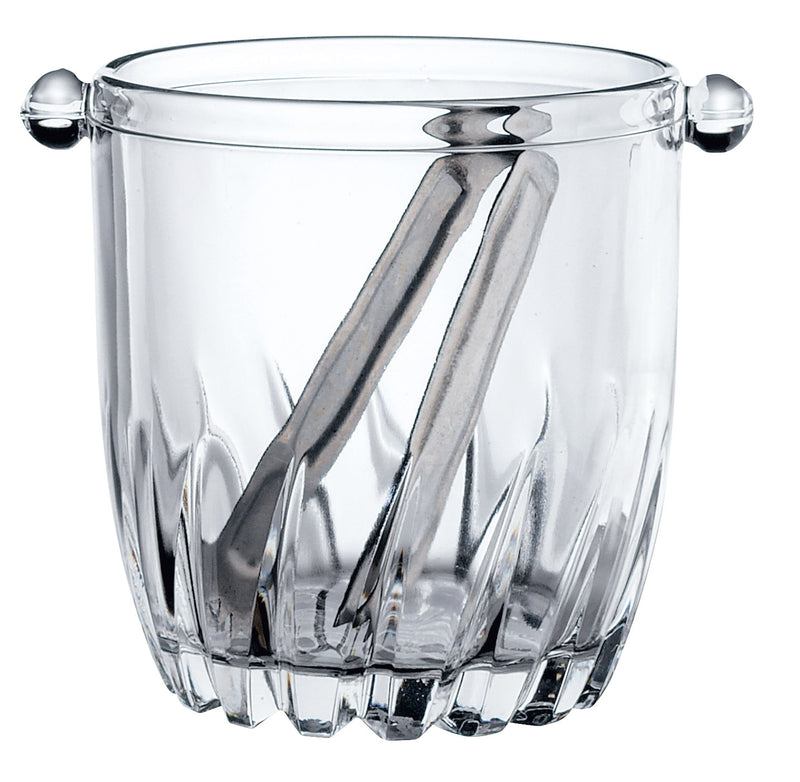 MONCAYO - ICE BUCKET WITH TONGS 95cl (12) H128mm W151mm BR2.23502 | ice bucket w/ tongs | wedoall.co.za