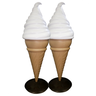 Soft Serve Display Cone 1.6m SSDC-10