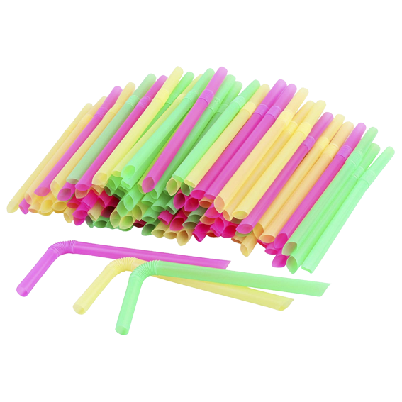 Flexible Straw 12mm