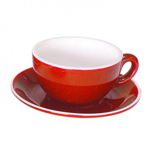 Cappuccino Saucer Red - 14CM (36) - GS-R816S-R