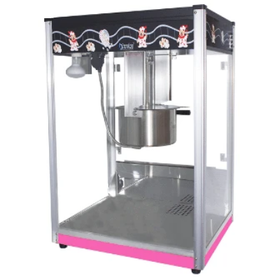 Popcorn Machine 16oz POP16B Pink & Black | Popcorn Machine 16oz | wedoall.co.za