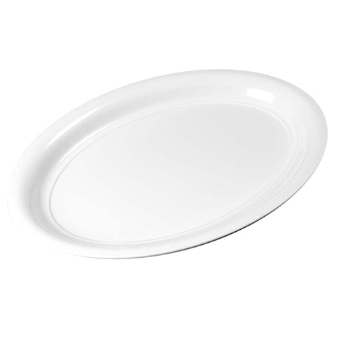 Catering platte oval-380mm stackable lid Carlisle