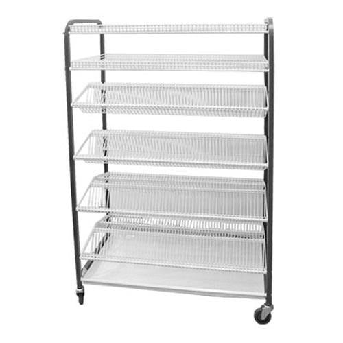CROCKERY RACK MOBILE - F/STANDING - 830mm (830 x 600 x 1700mm) CRM0830 | crockery rack | wedoall.co.za
