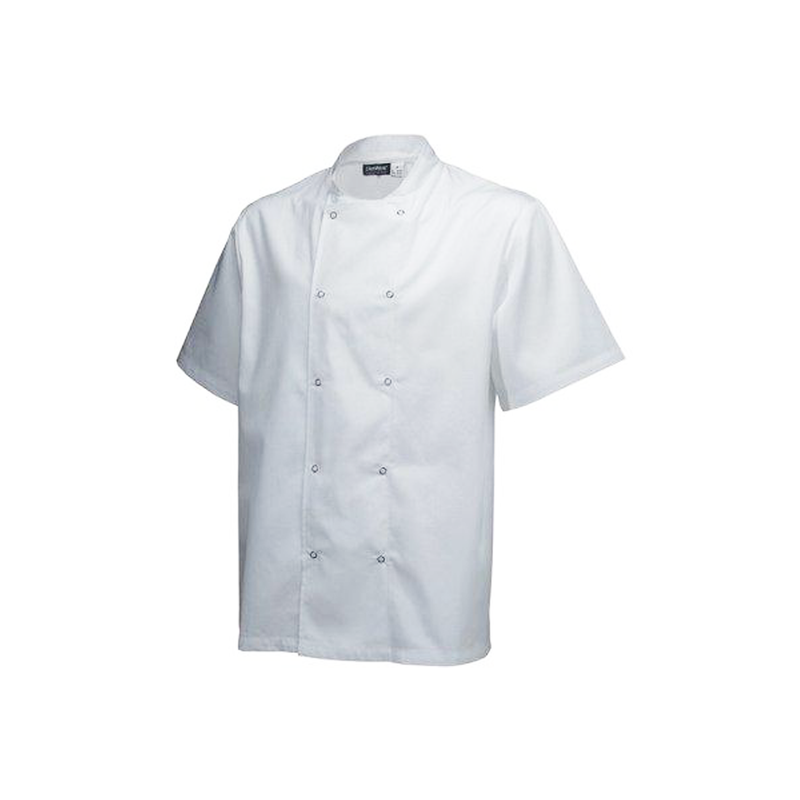 Chefs Uniform Jacket Laundry Coat Short - Xx - Large UNI0025