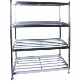 Pot rack S/Steel - Floor standing 1200 x 600 x 1450mm Global PRF1200 | wedoall-co-za.myshopify.com