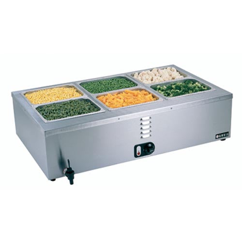 Bain Marie Table Top – 3 Division 22kg BMA0003 | wedoall-co-za.myshopify.com