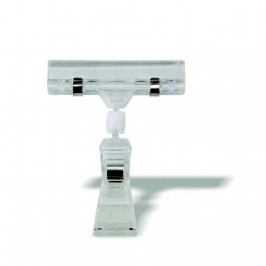 PLASTIC DISPLAY CLIP - THIN BASE - (SOLD IN PACKS OF 12) PCL0003 | PLASTIC DISPLAY CLIP | wedoall.co.za