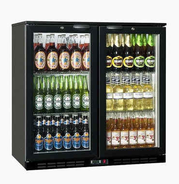 BACK BAR COOLER SALVADORE - DOUBLE HINGED DOOR BBC0002 | wedoall-co-za.myshopify.com