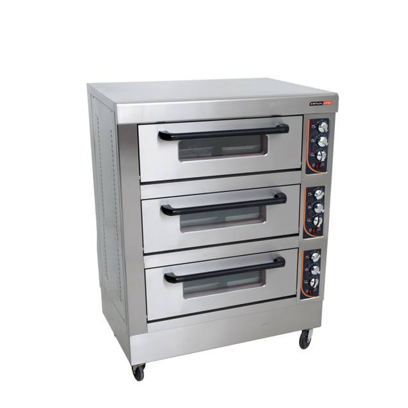 Triple Deck Oven 6 Tray DOA3003