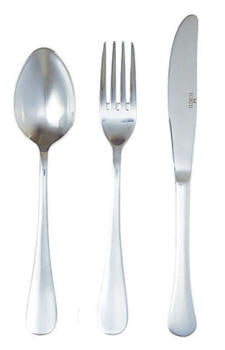 Cake Fork Sola and Pintinox Traditional