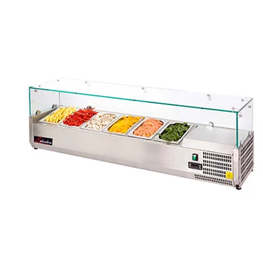 PIZZA INGREDIENT FRIDGE SALVADORE - 1400mm PIF1400 | wedoall-co-za.myshopify.com
