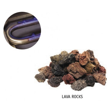 lava rock gas griller conversion kit only Anvil Radiant 400mm GGR1400 | wedoall-co-za.myshopify.com