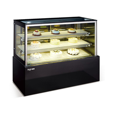 1.2m Cake Fridge Flat Glass CFS1.2 | 1.2m Cake Fridge Flat Glass | wedoall.co.za