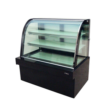 1.2m Cake Fridge Curved Glass CFC1.2 | 1.2m Cake Fridge Curved Glass | wedoall.co.za