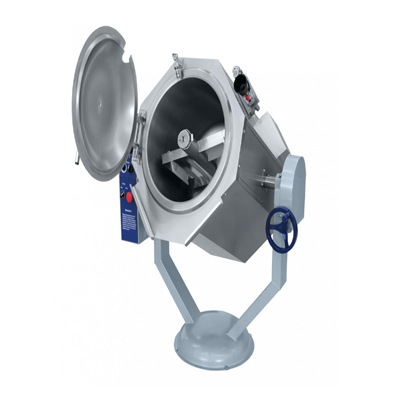 Electric Indirect 60L Boiling Tilting Pan (WIth Mixer) MOD-60 OMR