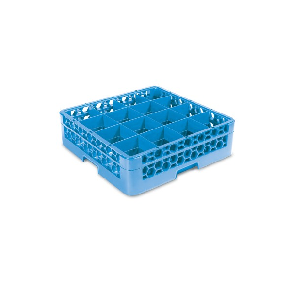 Glass Rack Extender - 16 Comp (Blue) Carlisle GRE5016