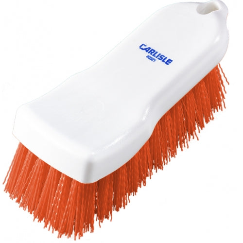 Hand Scrub Brush - Polyester - 150mm - Red Carlisle HSB3150