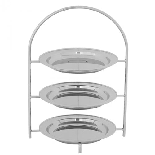 TEA STAND 'BRISTOL' - 3 TIER (230mm TRAYS) TSB1003 | tea stand | wedoall.co.za