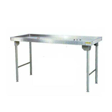Dirties Table 1100mm 0.9 mm 430 S/S With Mild Steel Legs Titan SDTA1014O7 | Dirties Table | wedoall.co.za