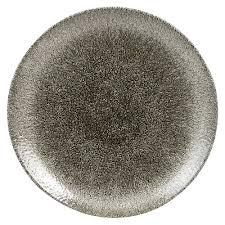 RAKU QUARTZ BLACK - COUPE PLATE - 28.8cm (12) CC-RKBQ-EV11.1 | COUPE PLATE | wedoall.co.za