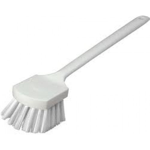 Utility Scrub Brush - Polyester - 500mm - White Carlisle USB4500 | utility scrub brush | wedoall.co.za