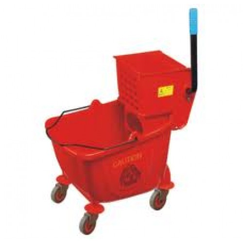 PLASTIC BUCKET & WRINGER - (RED) 36 LT PBW0003 | bucket & wringer | wedoall.co.za