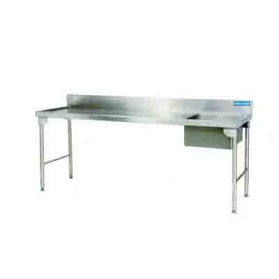 Sink Single Bowl 2300mm 1.2 mm 304 C/SS -Left Stainless Steel Legs Ezy Wash  EZWH1008O7 | Sink Single Bowl | wedoall.co.za