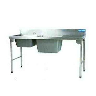 Sink Combination 1800mm Ezy Wash Stainless Steel Legs - Right EZWH1028O7 | Sink Combination | wedoall.co.za