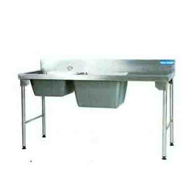 Combination Sink 1800mm S/Steel Legs Right EZWH1028O7 | Sink Combination | wedoall.co.za