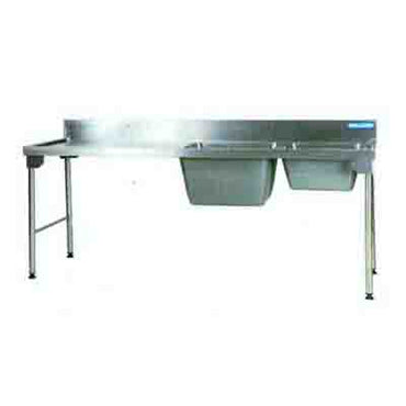 Sink Combination 2300mm Ezy Wash Stainless Steel Legs - Left EZWH1029O7 | Sink Combination | wedoall.co.za