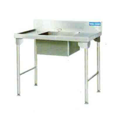 Sink Single Bowl  1100mm 1.2 mm 304 C/SS - Left Stainless Steel Legs Ezy Wash EZWH1002O7 | Sink Single Bowl | wedoall.co.za