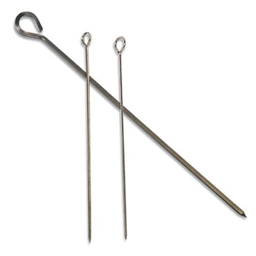 KEBAB SKEWERS S/STEEL (FLAT) - 300MM (PACK OF 12) KSS0300 | wedoall-co-za.myshopify.com