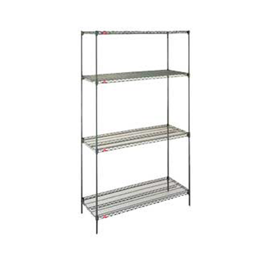 Shelving System Epoxy Coated 4 Tier 900 x 450 x 1800 mm1836NK3 | wedoall-co-za.myshopify.com