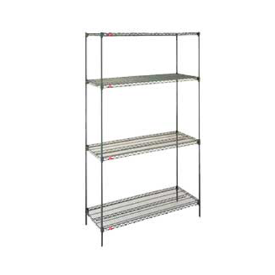 Shelving System Epoxy Coated 4 Tier 900 x 450 x 1800 mm1836NK3 | shelf unit | wedoall.co.za