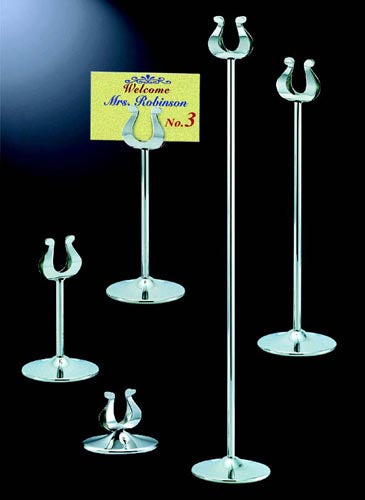 Infiniti table number stand, 290mm (P.O.R) ITS0290