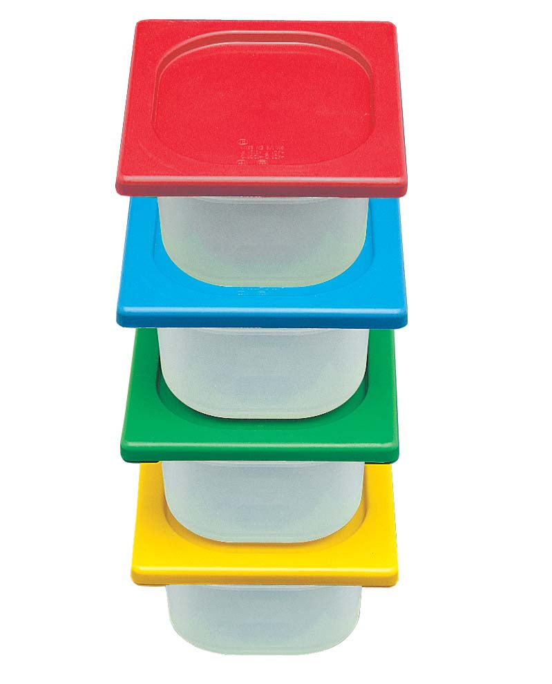 STORAGE CONTAINER FULL LID - POLYPROP (GREEN) SCF1004 | STORAGE CONTAINER FULL | wedoall.co.za