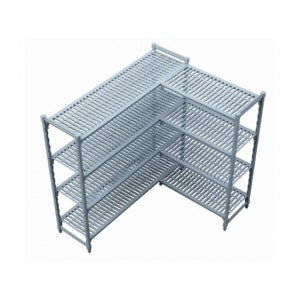 shelf corner unit Plastic1525 x 610 x 1800mm Global SUP6910 | shelf unit | wedoall.co.za